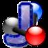 Logo del visor de moléculas Jmol